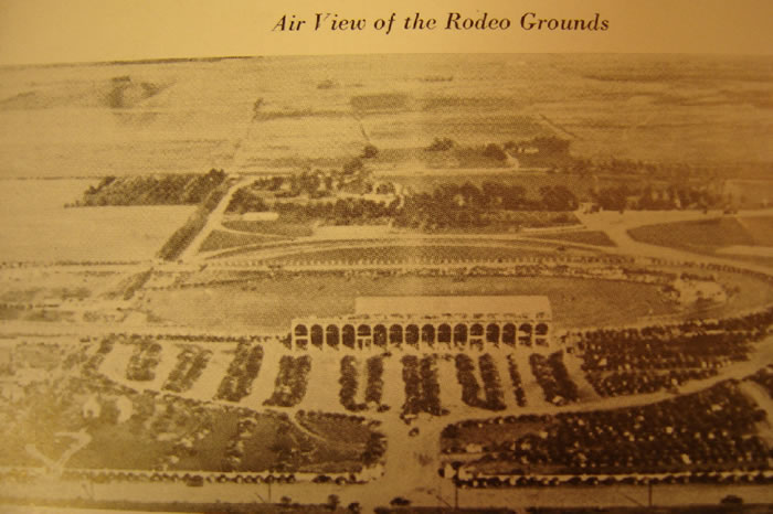 Air View of the Rodeo Grounds